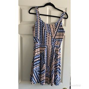 Perfect Summer Susana Monaco Geometric Dress